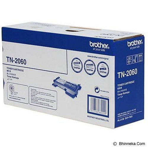 BROTHER Black Toner [TN-2060] - Toner Printer Brother